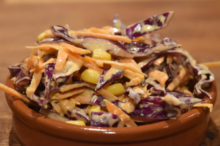 Colourful Crunchy Coleslaw