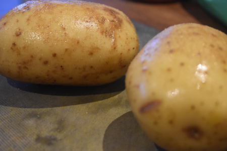 Perfect Baked Potatoes Need Coating In Olive Oil & Salt