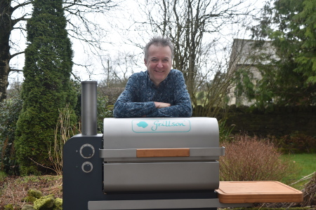 The Grillson wood pellet smoker is also great for vegan bbq recipes